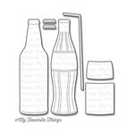 My Favorite Things - Die-Namics - Dies - Soda Pop Bottles