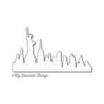 My Favorite Things - Die-Namics - Dies - New York Skyline
