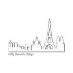 My Favorite Things - Die-Namics - Dies - Paris Skyline