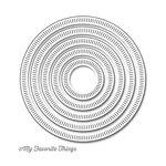 My Favorite Things - Die-Namics - STAX Dies - Radial Stitched Circle