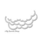 My Favorite Things - Die-Namics - Dies -Stitched Cloud Edges