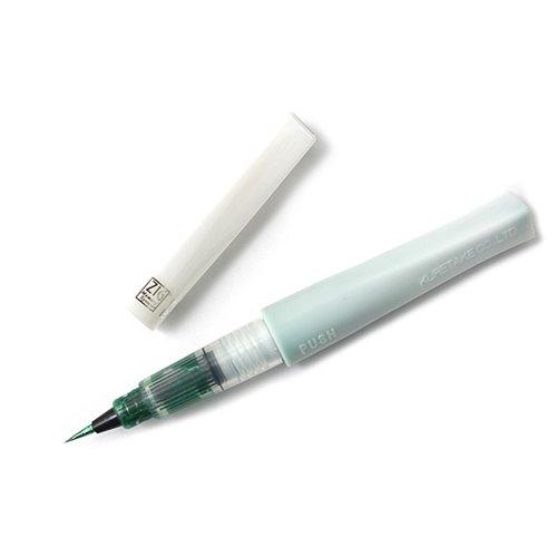 ZIG - Memory System - Wink Of Stella - Glitter Brush Marker - Glitter Green