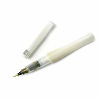 ZIG - Memory System - Wink Of Stella - Glitter Brush Marker - Glitter Yellow