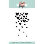 Neat and Tangled - Clear Acrylic Stamps - Falling Hearts