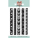 Neat and Tangled - Clear Acrylic Stamps - On The Strip