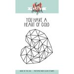 Neat and Tangled - Clear Acrylic Stamps - Heart Of Gold