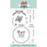 Neat and Tangled - Clear Acrylic Stamps - Hand Stitched