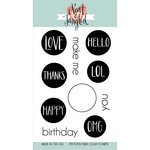 Neat and Tangled - Clear Acrylic Stamps - Everyday Circles