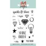 Neat and Tangled - Clear Acrylic Stamps - Sparkle and Shine