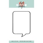 Neat and Tangled - Clear Acrylic Stamps - A Lot To Say