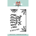 Neat and Tangled - Halloween - Clear Acrylic Stamps - BOOed