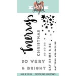 Neat and Tangled - Christmas - Clear Acrylic Stamps - Very Merry