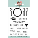 Neat and Tangled - Clear Acrylic Stamps - My Plate Is Full
