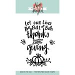 Neat and Tangled - Clear Acrylic Stamps - Be Full