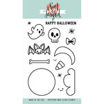 Neat and Tangled - Halloween - Clear Acrylic Stamps - Creepy Cute