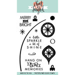 Neat and Tangled - Christmas - Clear Acrylic Stamps - Merry and Bright