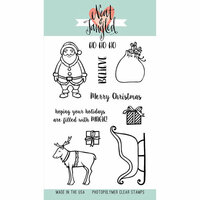 Neat and Tangled - Christmas - Clear Acrylic Stamps - Santa's Ride