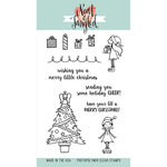 Neat and Tangled - Christmas - Clear Acrylic Stamps - Merry Little Christmas