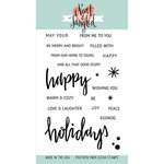 Neat and Tangled - Christmas - Clear Acrylic Stamps - Happy Holidays