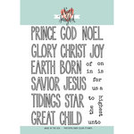 Neat and Tangled - Christmas - Clear Acrylic Stamps - Christmas Journaling