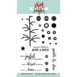 Neat and Tangled - Christmas - Clear Acrylic Stamps - Bright Baubles