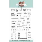 Neat and Tangled - Clear Acrylic Stamps - Blog Planner