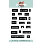 Neat and Tangled - Clear Acrylic Stamps - Everyday Labels