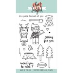 Neat and Tangled - Clear Acrylic Stamps - Lumberjack Love