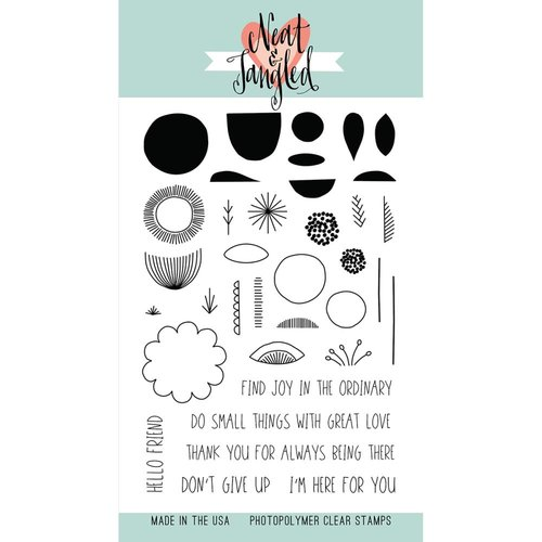 Neat and Tangled - Clear Acrylic Stamps - Scandinavian Prints