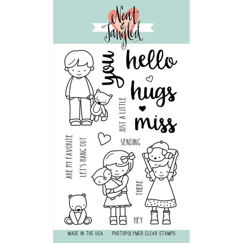 Neat and Tangled - Clear Acrylic Stamps - Better Together