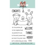 Neat and Tangled - Clear Acrylic Stamps - Itty Bitty Welcoming Committee