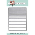 Neat and Tangled - Nice and Neat Die - Graduated Stripes Cover Plate