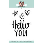 Neat and Tangled - Clear Acrylic Stamps - Hello You