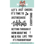 Neat and Tangled - Clear Acrylic Stamps - Celebrate