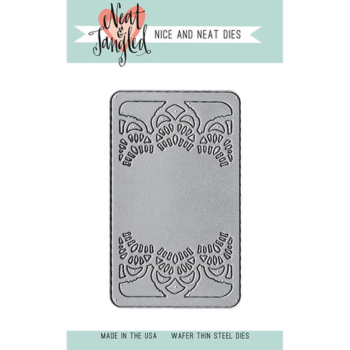 Neat and Tangled - Nice and Neat Die - Doily Tag