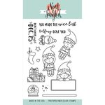 Neat and Tangled - Christmas - Clear Acrylic Stamps - Elfs and Their Shelf