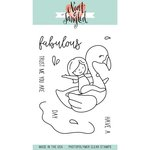 Neat and Tangled - Clear Acrylic Stamps - Flamingo Floatie