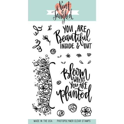 Neat and Tangled - Clear Acrylic Stamps - Bloom