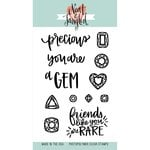 Neat and Tangled - Clear Acrylic Stamps - You're A Gem