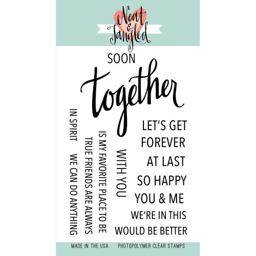 Neat and Tangled - Clear Acrylic Stamps - Together