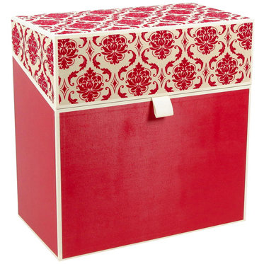 Hullabaloo - Oversized Stationery Box - Red