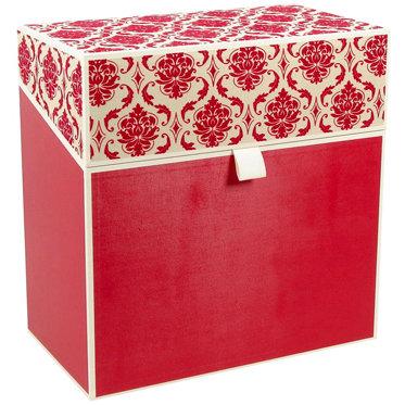 Hullabaloo - Oversized Stationery Box - Red