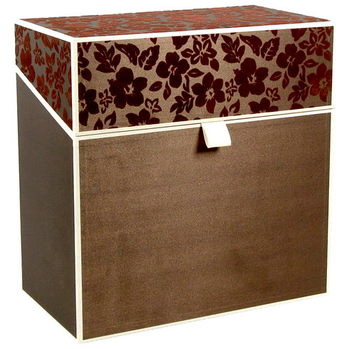 Hullabaloo - Oversized Stationery Box - Brown
