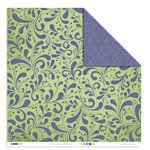 Kaisercraft - Lilac Avenue Collection - 12 x 12 Double Sided Paper - Violet, CLEARANCE