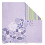 Kaisercraft - Lilac Avenue Collection - 12 x 12 Double Sided Paper - Lavender, CLEARANCE