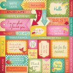 Penny Black - Sticker Sheet - Sentiments