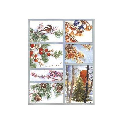 Penny Black - Sticker Sheet - Woodland Splendor