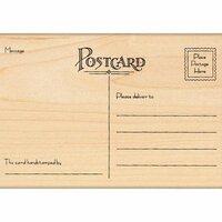 Penny Black - Wood Stamps - Postcard