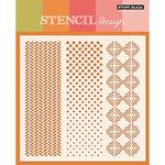 Penny Black - Stencils - Oscillations