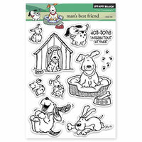 Penny Black - Clear Photopolymer Stamps - Man's Best Friend